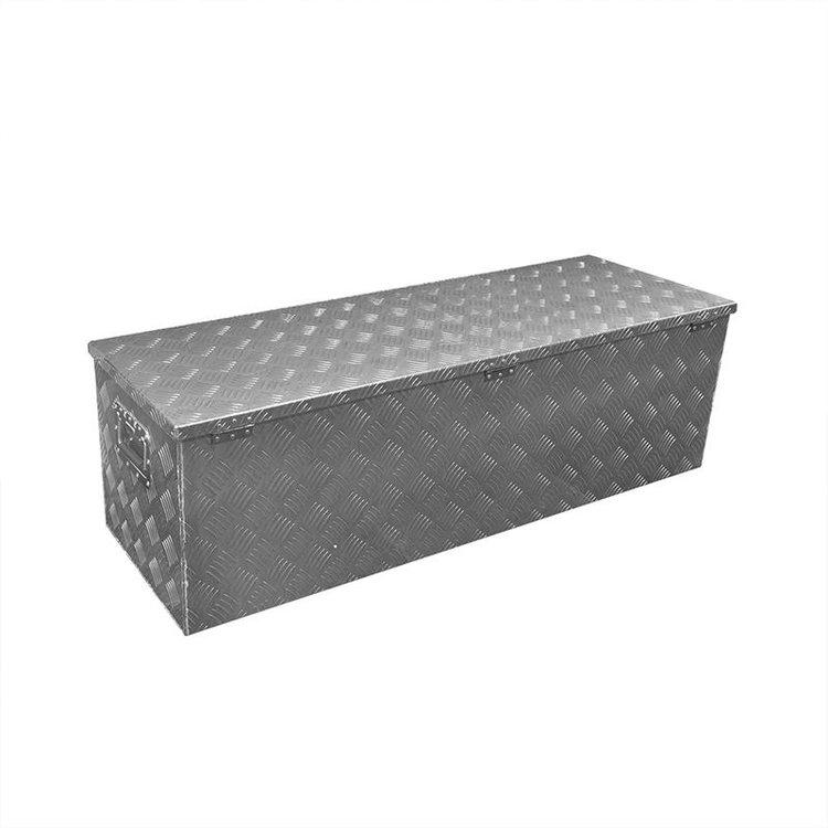 Gereedschapskist aluminium voor aanhangwagen 1240 x 400 x H380mm