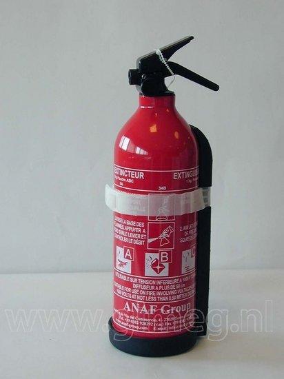 Brandblusser 2kg  Klasse: ABC zonder manometer