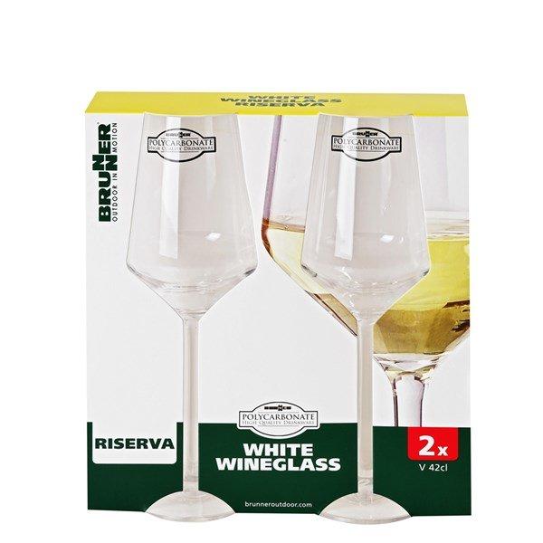 Witte wijnglas 30cl 2 stuks - Brunner Riserva
