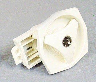 Deurslot kunststof binnen-en buitendeel (wit)