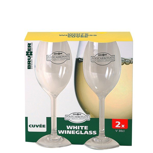 Witte wijnglas 30cl 2 stuks - Brunner Cuve