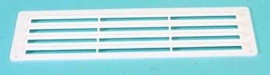 Ventilatierooster opbouw ((240x90 mm.- WIT)