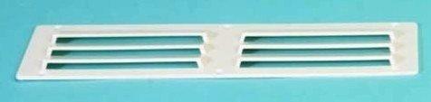 Ventilatierooster opbouw (250x70 mm.-WIT)
