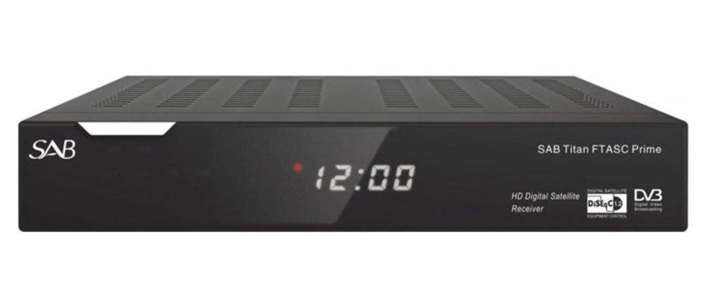 SAB Titan DVB-S2 FTA+ Kaartlezer Prime