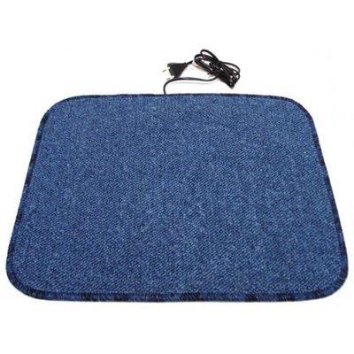 Heatek verwarmde voetenmat - Blauw 90 cm x 40 cm