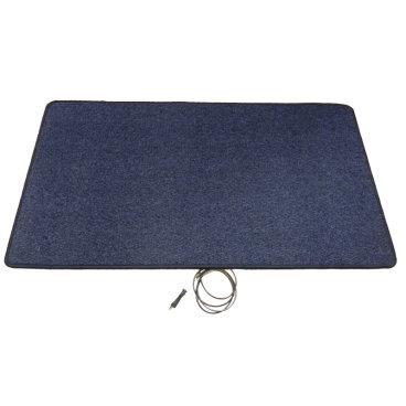 Heatek verwarmde voetenmat - Blauw 110 cm x 60 cm