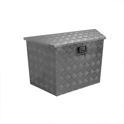 Gereedschapskist aluminium voor aanhangwagen 830/540x360xH490mm