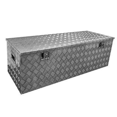 Gereedschapskist aluminium voor aanhangwagen 1450 x 520 x H460mm