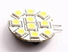 LED G4 vervangingslampjes-6 LED's-2 Watt-G4 fitting