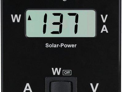 Beaut LCD Solar monitor / display