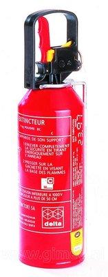 Brandblusser 1kg  Klasse: ABC met manometer