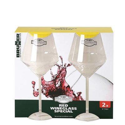 Rode wijnglas 72cl 2 stuks - Brunner Riserva