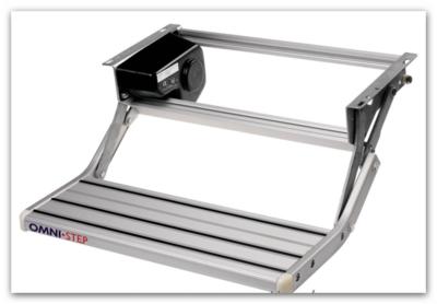 Opstap Omni step enkel (Type 550 Alu) (HANDBEDIENING)