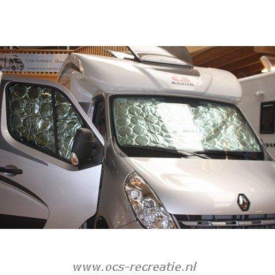 Isotherm gordijn Renault Trafic 2014 Raamisolatie achterdeur