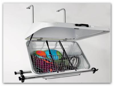 Bagagekoffer voor fietsendrager (Type 150)