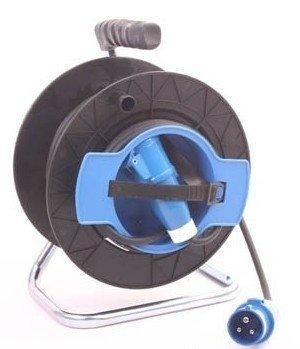 Kabelhaspel (20meter) met CEE-stekker en CEE-contrastekker