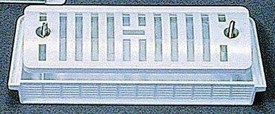 Ventilatierooster inbouw (210x85 mm-WIT)