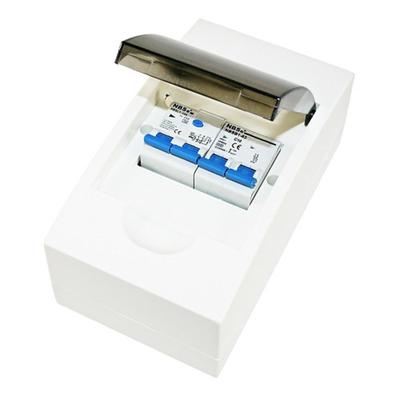 Aardlekschakelaar/zekeringautomaat