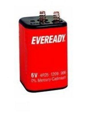Blokbatterij 6 volt 2 stuks