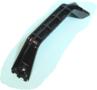 Handgreep-180mm-(2-Schroefgaten--ZWART)